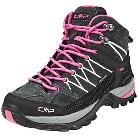 CMP Campagnolo Rigel Mid WP Trekking Shoes Women grey-fuxia-ice